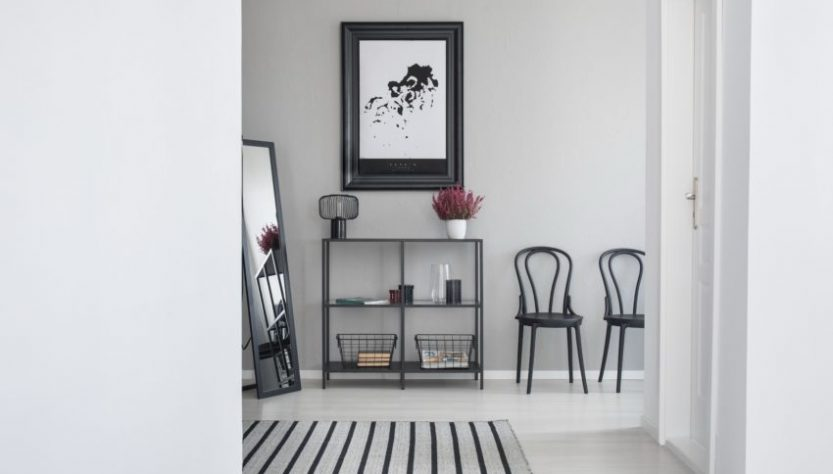 couleur-pour-agrandir-un-couloir-maison