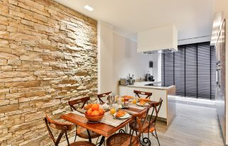 aménager une cuisine ouverte sur salon 25m2