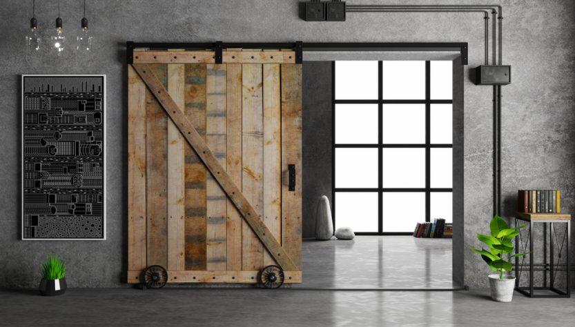 idées originales pour meubler une grange en bois